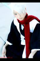 Bleach Cosplay: Hitsugaya by Akusesu