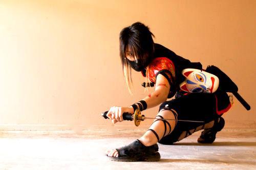 Kunoichi: Battle Ready by Akusesu