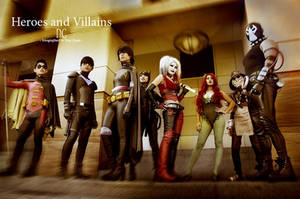 DC: Heroes and Villains
