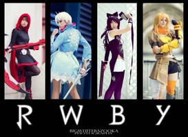RWBY by Akusesu