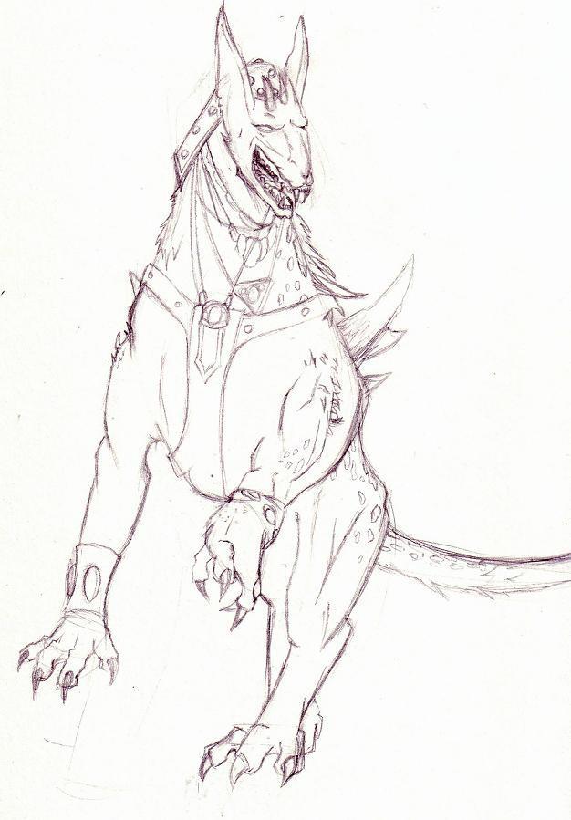 Darhound unfinished by Akusesu