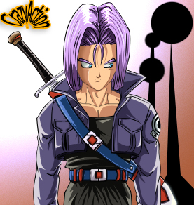 trunks future by Crazyaction
