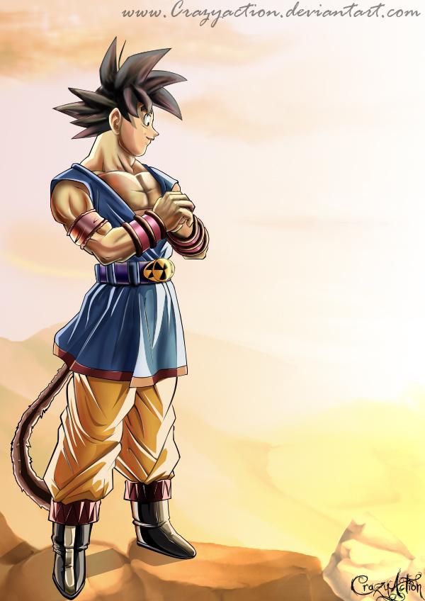 Son Goku by Crazyaction