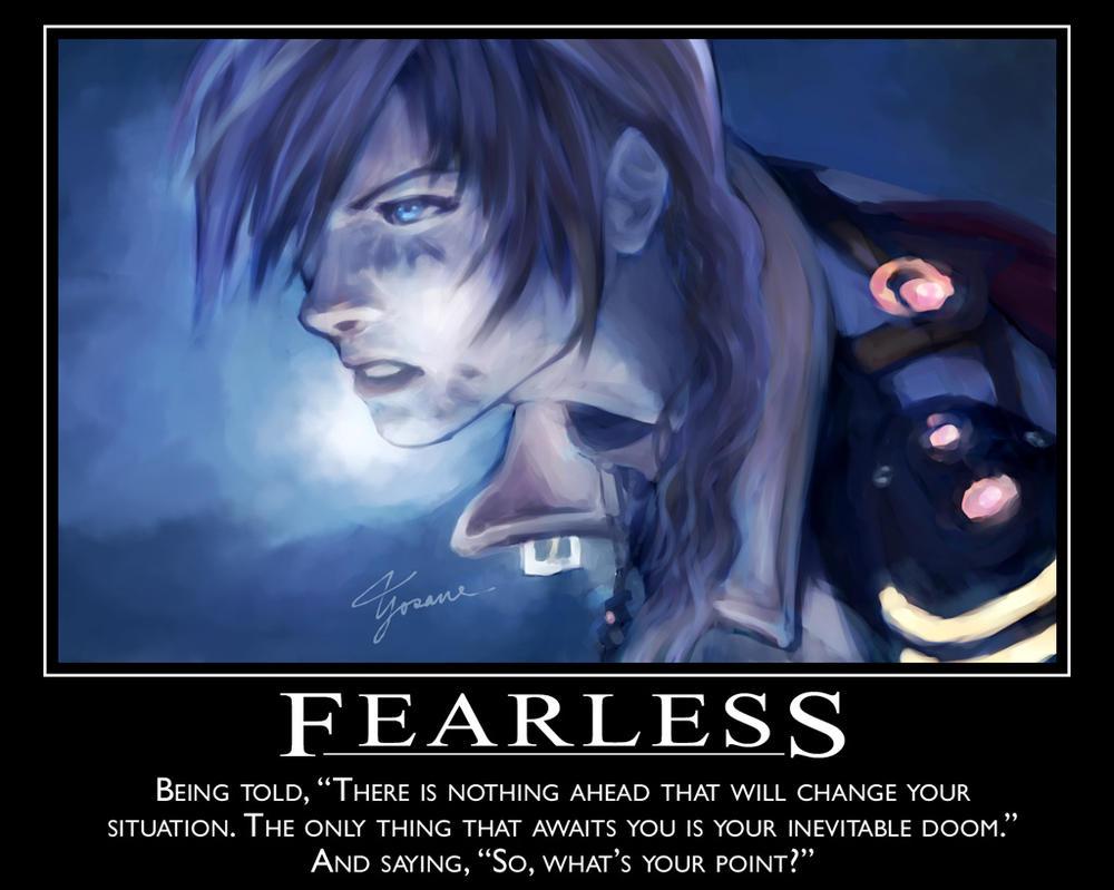 FFXIII Lightning 'Fearless' by Yosane