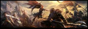 Miss.Hua fighting Mr.Zhao