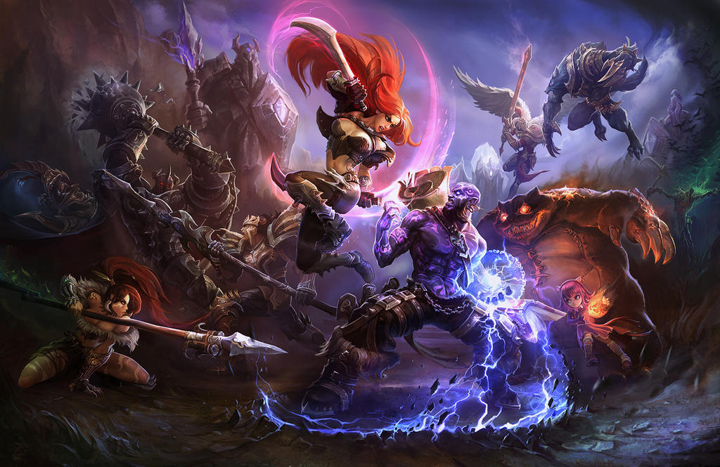 League of legends wallpaper by su ke on deviantart league of legends wallpaper by su ke voltagebd Images