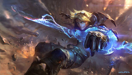 Ezreal splash base rework