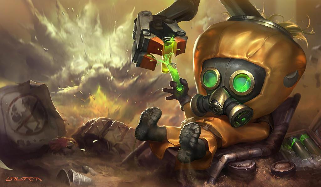 Toxic Heimerdinger by su-ke