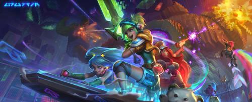 Arcade Promotion art by su-ke