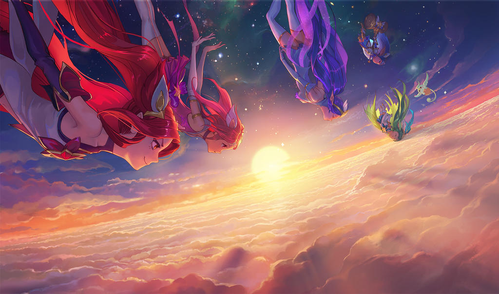 Star Guardian Key art by su-ke
