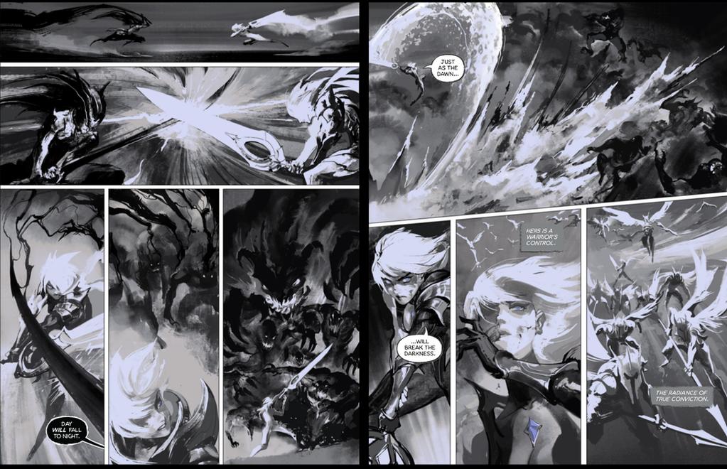 Dawnbringer vs nightbringer comic 5-6 by su-ke