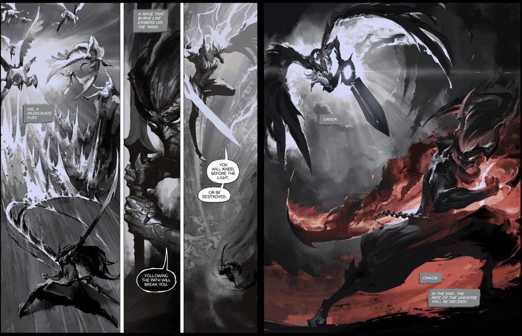 Dawnbringer vs nightbringer comic 7-8 by su-ke
