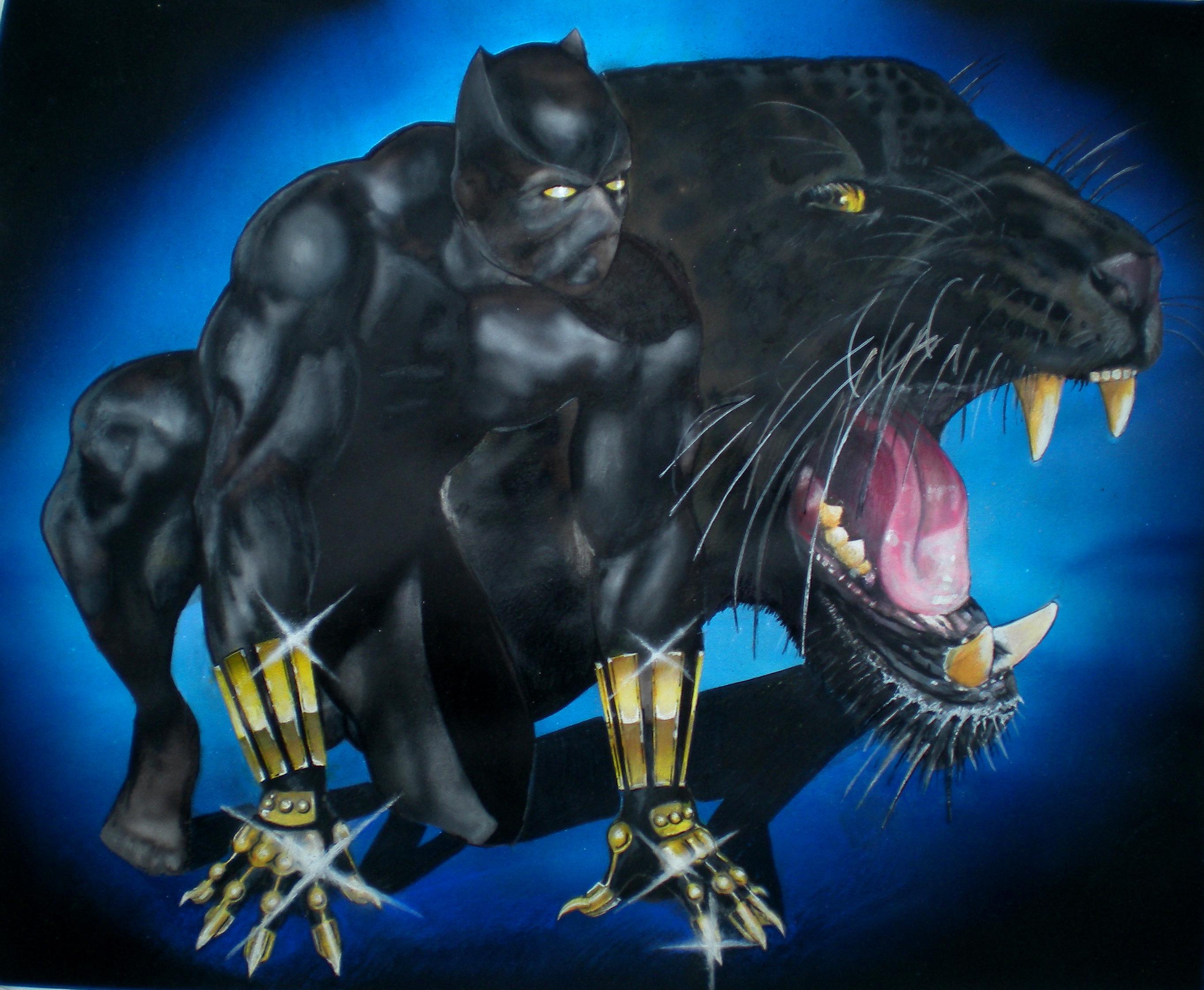 Black Panther By Portela On Deviantart: Black Panther By Thunder2165 On DeviantArt