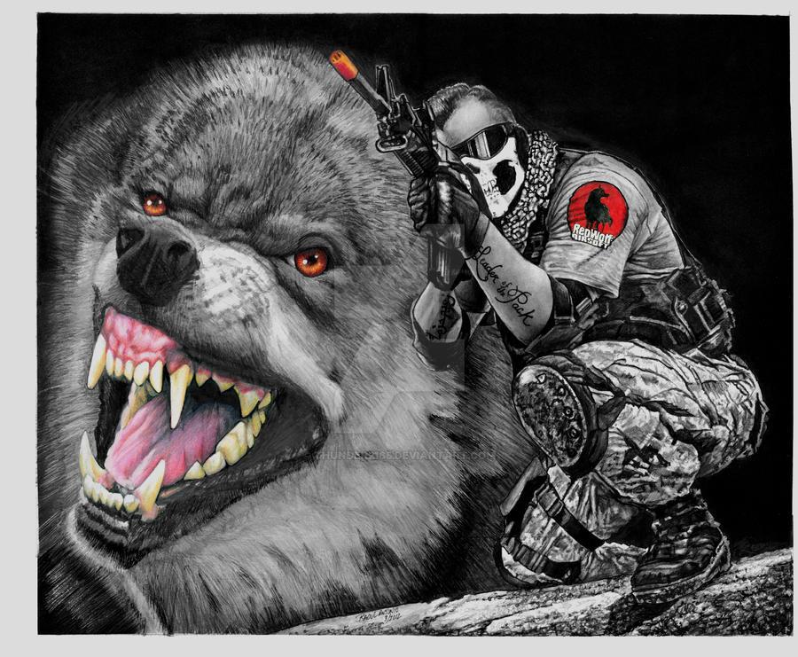 redwolf by thunder2165