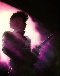 purple spotlight