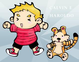 Calvin e Haroldo by Kachu80