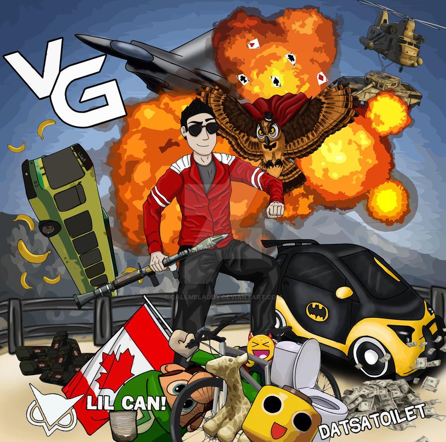 vanoss gaming by callmeladdy on deviantart