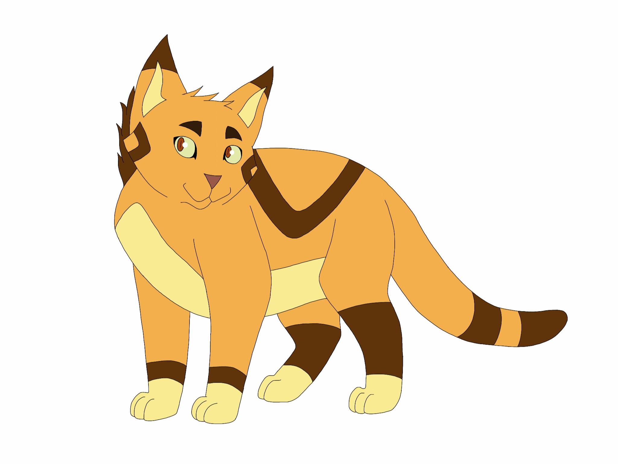 Nifty Senpai Warrior Cats Designs