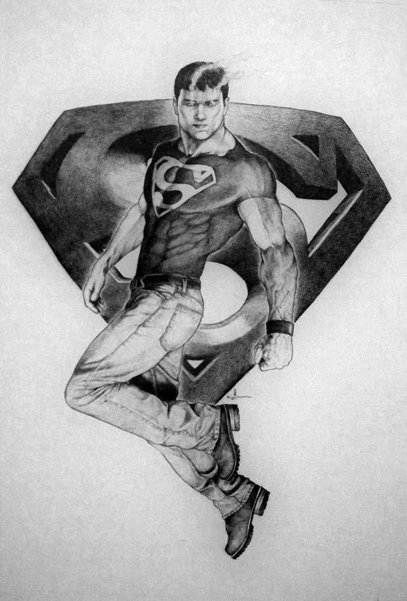Superboy by Meador