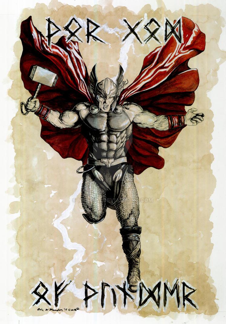 Thor Battle of Asgard. by Meador