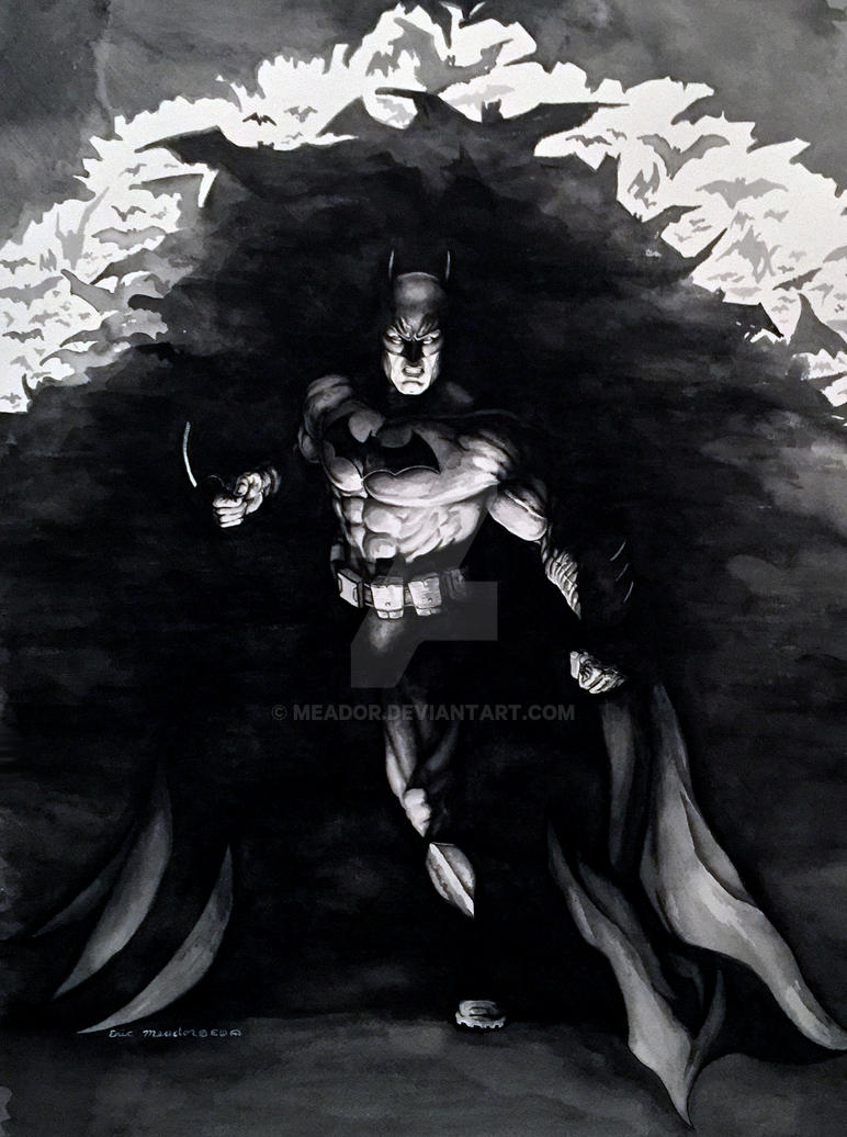 Batman by Eric Meador by Meador