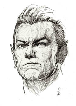 Namor Sketch by Eric Meador