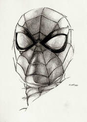 Spider-Man sketch HB by Eric Meador