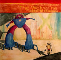 Wolverine homage to Flaming Lips by Eric Meador