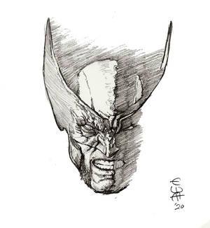 Wolverine sketch by Eric Meador