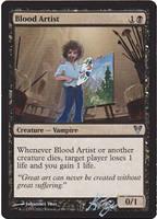 Blood Artist by closetvictorian