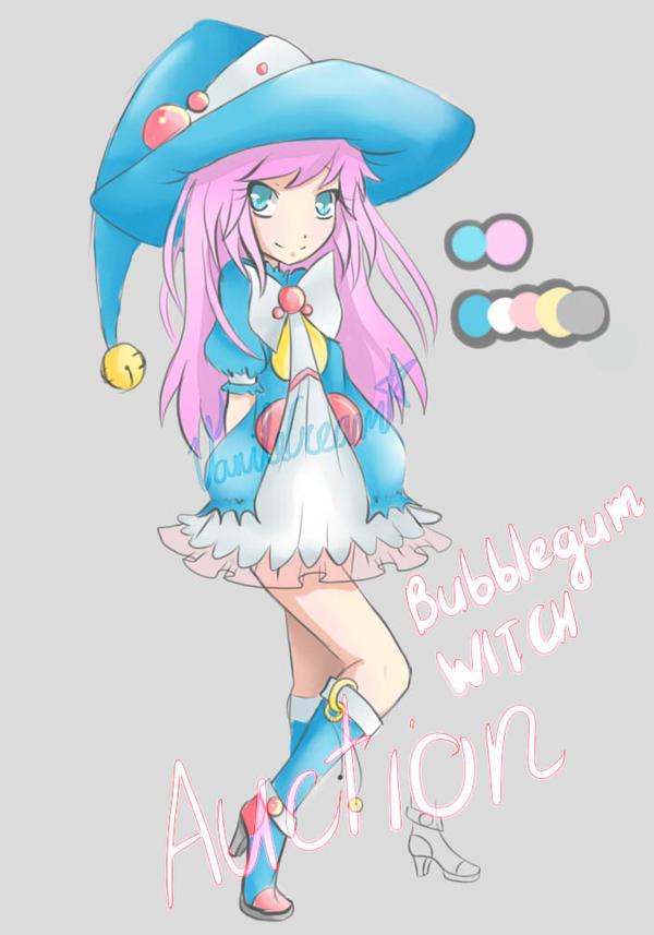Bubblegum Witch: CLOSED by VanileCream