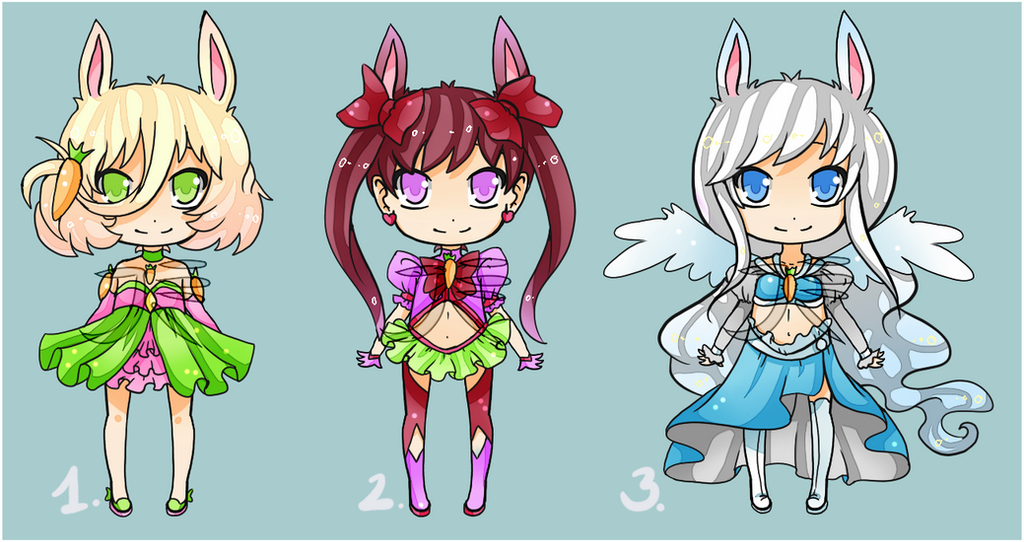 bunny girls: CLOSED by VanileCream