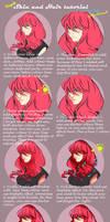 Simple skin and hair tutorial