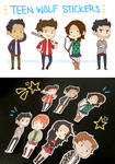 teen wolf stickers yo