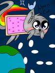Nyan Cat by KenzieSunshine
