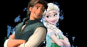 Flynn and Elsa