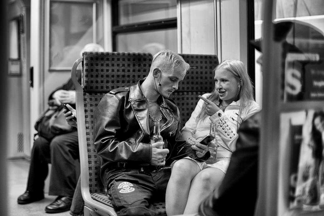 One Day On The S-Bahn by batmantoo