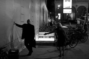 Odeonsplatz At Night by batmantoo