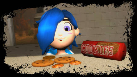 Tari Finds the Cookie.