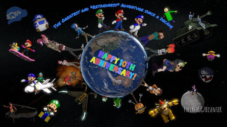 SMG4's 10th Anniversary