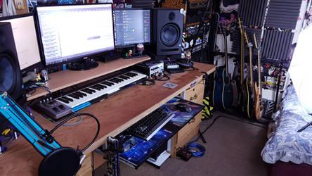 Desk 1 by PWhateverer