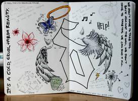 Shinedown Fan Art by bexa-rose12