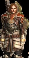 Dragon Age 2 Aveline render