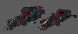 Spaceship 10 by AlpYro