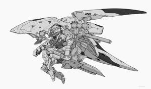 Prototype - Cyborg girl 26 by AlpYro