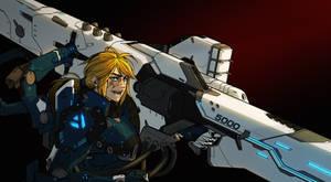 Cyborg girl 32 - artsta5K