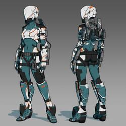 Cyborg girl 34
