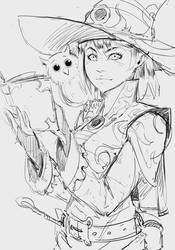 Sketch 180819 - Witch