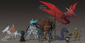 Aliens Lineup