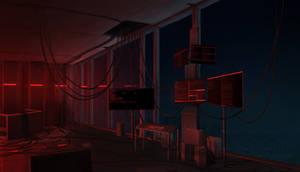 Office vilain's lair